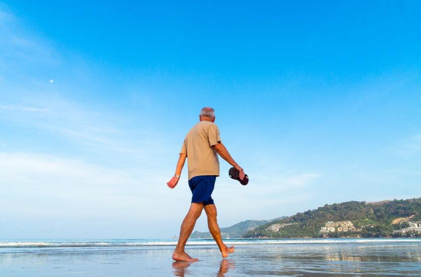 Caminhada como exercício pode atrasar o envelhecimento. Imagem: Pixabay